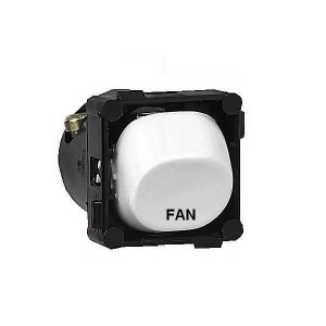 Switch mech FAN 10 Amp white