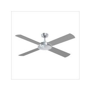 Intercept Brushed Aluminium Ceiling Fan