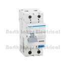 Safety switch 2pole RCBO 20Amp 30mA Hager