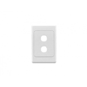 2 gang Clipsal 2000 series switch plate