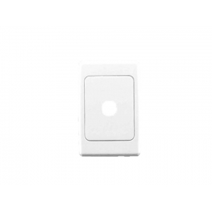 1 gang Clipsal 2000 series switch plate