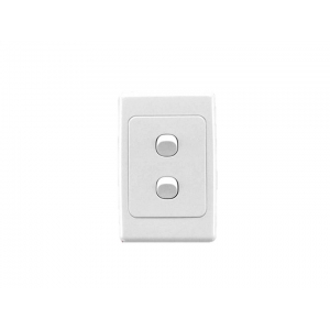 2 gang Clipsal 2000 series complete switch
