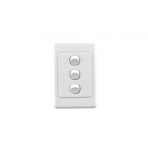 3 gang Clipsal 2000 series complete switch