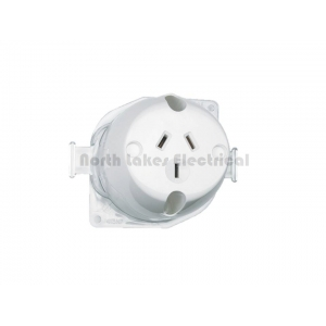 413 surface mount single socket outlet