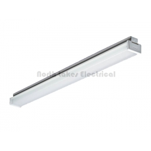 2x36W fluorescent batten diffused Clipsal