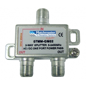 2 way splitter DiGiMATCH Matchmaster