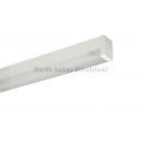 1x18W fluorescent batten diffused Clipsal