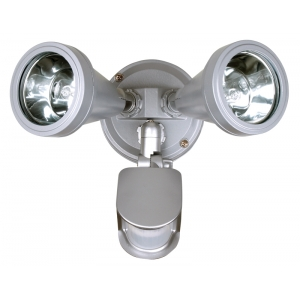Twin Security light G9 silver