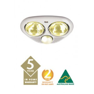 3 in 1 IXL Tastic Bathroom Lights 2 heat lamps